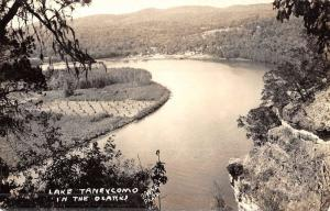 Lake Taneycomo Missouri Birdseye View Real Photo Antique Postcard K51316