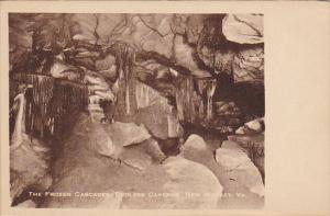The Frozen Cascades Endless Caverns New Market Virginia Rotograph