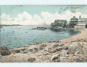 Pre-1907 CORINTHIAN CLUB HOUSE Marblehead Massachusetts MA A0888