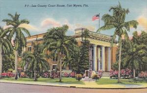 Florida Fort Myers Lee County Court House