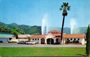 California Calistoga Pacheteau's Original Calistoga Hot Springs 1966