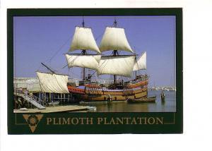 Mayflower Reproduction at Plymouth Plantation, Massachusetts, Impact East