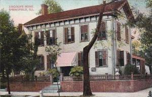 Illinois Springfield Lincolns Home 1909