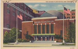 Hayden Planetarium New York City 1936Curteich