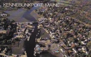 Maine Kennebunkport Aerial View