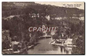 Old Postcard Basins of Doubs Hotels in Doubs jump