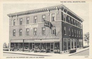 BAUDETTE , Minnesota , 1910-30s ; Rex Hotel
