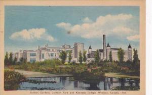 Sunken Gardens, Jackson Park and Kennedy College, Windsor, Ontario, Canada, P...