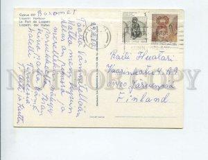 3142702 CYPRUS Liopetri Harbour Old photo postcard