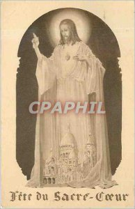 Old Postcard Feast of the Sacred Heart