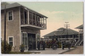 Horse Drawn Fire Dept, Isthmus