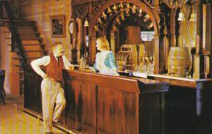 Canada Bar Of The Golden Wheel Saloon Three Valley Gap Revelstoke British Col...