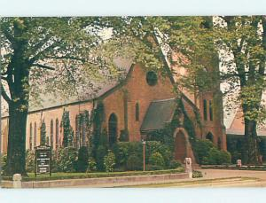 Unused Pre-1980 CHURCH SCENE Pine Bluff Arkansas AR p3554
