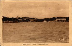 CPA  Giens - Plage de l'Hopital René-Sabran  (635012)