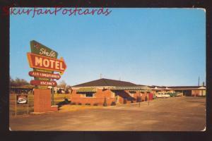 OKLAHOMA CITY OKLAHOMA SKY LITE MOTEL ROUTE 66 OLD ADVERTISING POSTCARD
