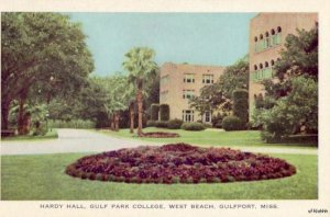 GULFPORT, MS WEST BEACH HARDY HALL GULF PARK GIRLS JUNIOR COLLEGE
