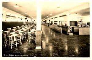 ID - Farragut Naval Base. Ship's Service Store Interior - RPPC