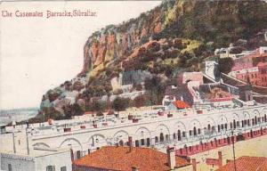 Air view, The Casemates Barracks,  Gibraltar,  PU-1918