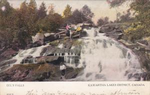 KAWARTHA LAKES DISTRICT, Ontario, Canada, PU-1907; Eel's Falls