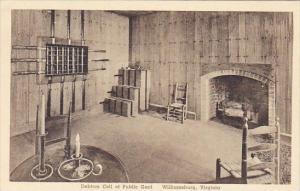 Debtors Cell Of Public Gaol Williamsburg Virginia Albertype
