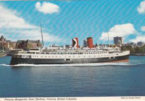 Ferry Princess Marguerite , Inner Harbor , VICTORIA , B.C. , Canada , 50-70s