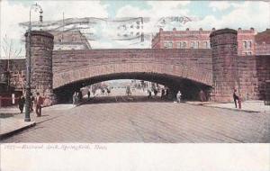 Massachusetts Springfield Railroad Arch 1914