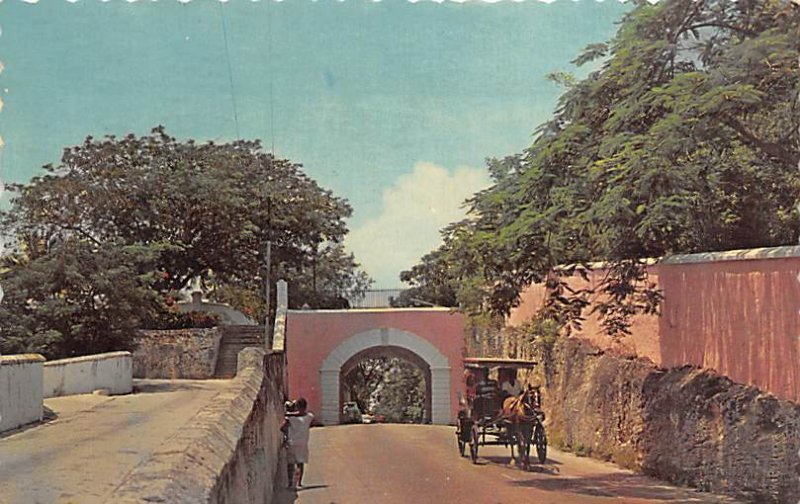 The Gregory Arch Nassau in the Bahamas 1964