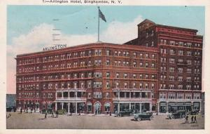 New York Binghamton The Arlington Hotel 1929