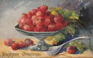 GOLAY ; Strawberry Still life , 1901-07