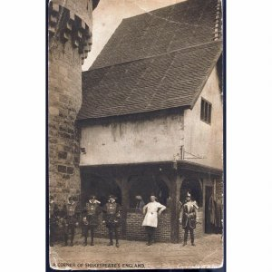 W.H. Smith Postcard 'A Corner of Shakespeare's England'