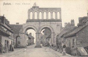 AUTUN, France, 1910-1920s, Porte d'Arroux