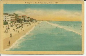 Bathing Scene, Old Orchard Beach, Maine