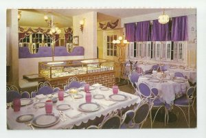 POSTCARD ~Gertrude Hart ~ Golden Mirror Restaurant Lounge ~ Patterson NY Pawling