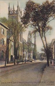 View Of Third Saint Pauls P E Church City Hall & Third Street Baptist Church ...