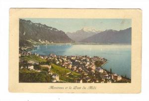 Montreux Et La Dent Du Midi (Vaud), Switzerland, 1900-1910s