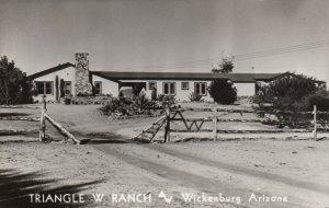 RP: WICKENBURG , Arizona , 1940s; Triangle W Ranch