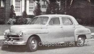 1950 Plymouth Deluxe 4 Door Sedan Automotive, Autos, Cards Old Vintage Antiqu...