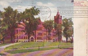 Illinois Springfield High School Building