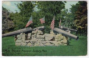 Duxbury, Mass, Myles Standish Monument