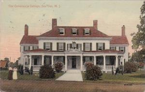 New Jersey Sea Girt The Governor's Cottage 1914