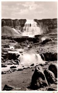 Iceland Dynjandi i Arnarfiroi Real Photo