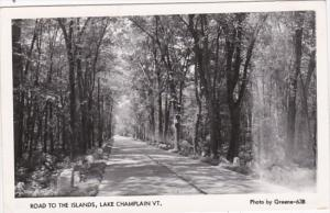 Vermont Lake Champlain Road To The Islands 1958 Real Photo