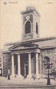 MAUBEUGE, Nord, France, 1900-1910´s; L'Eglise
