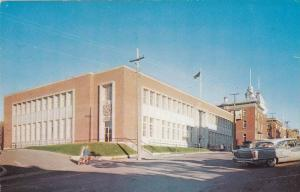 The Federal Building, Rimouski, Quebec, Canada, 1950-1960s