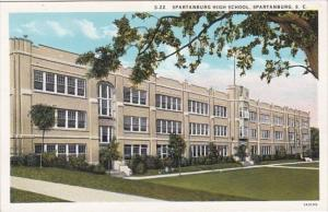 South Carolina Spartanburg High School Curteich