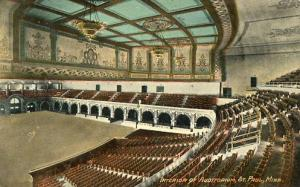 MN - St. Paul, Interior of the Auditorium