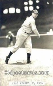 Chad Kimsey Base Ball Postcard Detroit Tigers Baseball Postcard Post Card Wri...