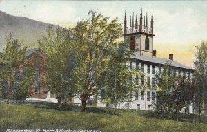 MANCHESTER , Vermont , 1900-10s ; Burr & Burton Seminary
