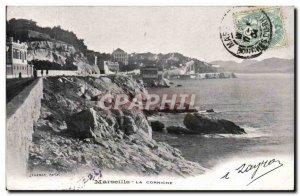 Marseille Old Postcard The cornice