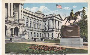 State Capitol Building South Wing Harrisburg Pennsylvania 1920